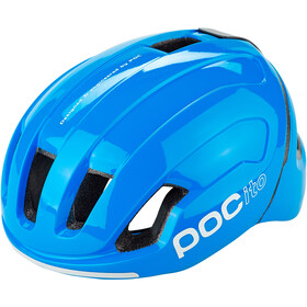 POC POCito Omne Spin Kask Dzieci, fluorescent blue